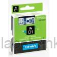 Dymo 40914 D1 Tape 9mm x 7m blauw op wit