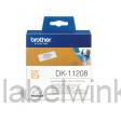DK-11208 Breed adres etiket 38 x 90mm