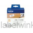 DK-11209 Kort adres etiket 29 x 62mm