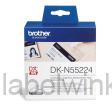 DK-N55224 Doorlopend papier 54mm x 30,48m - wit - niet-klevend