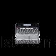 De PT-D450VP heeft een PC toetsenbord en groot verlicht LCD scherm