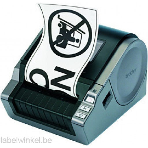 Brother QL-1050 Labelprinter voor DK labels en tapes van 12 tot 102 mm - 300 dpi