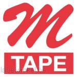 MK-232BZ TM-Tape 12mm rood op wit
