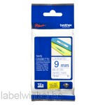 TZe-223 9mm Blauw op Wit