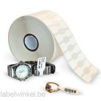 Zebra 10010065 8000D sieraden labels niet-klevend verbindingsstuk