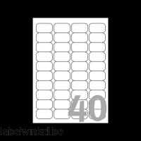 J8654-25 etiket avery j8654-25 45.7x25.4mm 1000st