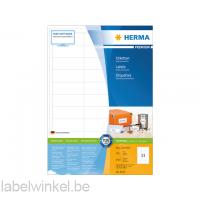 4613 etiket herma 4613 66x25.4mm premium a4 6600st