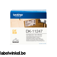 Brother DK-11247 labels 103 x 164 mm
