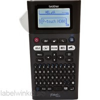 Brother P-touch H300 met QWERTY toetsenbord