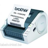 Brother QL-1060N Labelprinter voor DK labels en tapes van 12 tot 102 mm - netwerkklaar - 300 dpi
