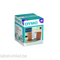 Dymo extra grote verzendetiketten 104x159mm voor LabelWriter 4XL