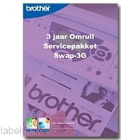 Brother 3 jaar omruil service