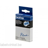 TC-591 Brother tape zwart op blauw 9mm breed