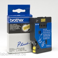 TC-691 Brother tape zwart op geel 9mm breed