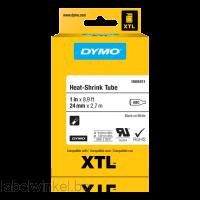 DYMO 1868809 XTL Krimpkous 6mm zwart op wit